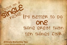 Affiliate Marketing Tips / Affiliate Marketing Tips To Improve Your Online Business  More Tips at : www.stevescottsite.com / by Steve Scott