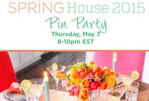 HGTV Spring House / Join HGTV editors Thursday, May 7 from 8-10pmET for a look at HGTV Spring House! We're sharing a bounty of bright, colorful decorating ideas, entertaining tips and more, just in time for spring. Sponsored by Lindeman's Wines. / by HGTV