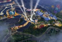 Concept Art / Theme park concept art