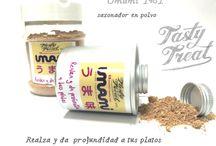 UMAMI sazonador / umami  seasoning   catereasy.opentiendas.com/tienda/restauracion-y-catering/umami-polvo-1  umami 1961