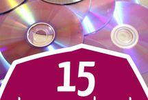 cd/dvd uusiokäyttö