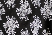 Sarah Strader Textiles Collection / Hand printed textiles, manufactured in Orange County, California