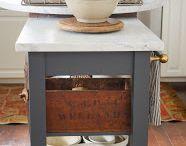 muebles vanity gray / gris vanidad