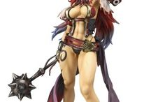 Queen's Blade action figures / The coolest Queen's Blade from the Queen's Gate Characters and the Rebellion Characters