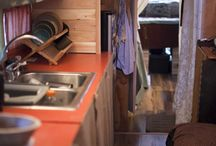 Rv/bus conversion/tiny house / by Amy Trampush