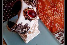 The dress of delicate one femininity / Bijoux bracelet manchette par Jewelry by Et666.