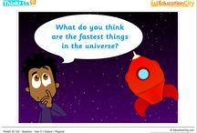 Science Lesson Starters / EducationCity has created some great science ThinkIts, which are great for starting of class discussions about a new topic.  / by EducationCity