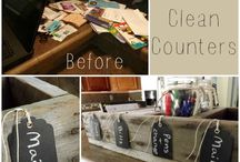 declutter and orginazation / by Shannon Parazoo-Green