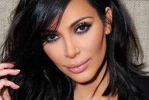 Meikkaus, Kim Kardashian
