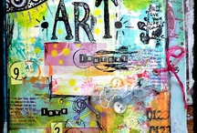 """Art Journal Inspiration / Art journal, creative journal, ephemera diary, smash book, day book, remains of the day journal, illustrated notes, book of days, junk journal, visual journal, life book, glue book, whatever you want to call them, just make one! Find inspiration here. Disclaimer: These are just """"PINS"""". I don't claim copyright or ownership of any content on this board. / by Julie Lane"""