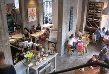 cafe, restaurant, deli design ideas