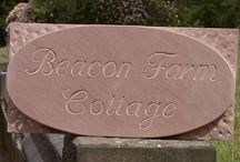 Natural stone name plates in India