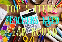 TOP 5 ITEMS TEACHERS NEED YEAR ROUND / http://www.cmschoolsupply.org/top-5-items-teachers-need-year-round/top-5-items-teachers-need-year-round