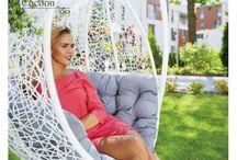 Meble Ogrodowe / Kto nie marzy o tym, aby zrelaksować się we własnym ogrodzie? Doskonale nadają się do tego nasze meble ogrodowe.