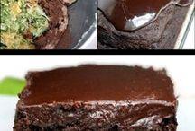 шок торт с цукини