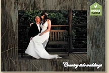 Country weddings / Find inspiration for a gorgeous rustic, country style wedding.