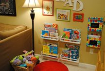 Reading / Homework Nook / by Tracey McNeil