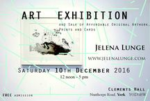 Art Exhibition and Sale of Affordable Original Artwork, Prints and Cards.