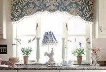 Window Valences / Use simple window valences to let light shine in