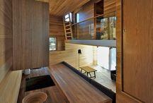 Scianka drewniana