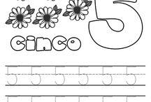 Aprender a dibujar los números
