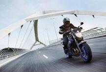 Это мотоцикл XJ6N , устанавливающий стандарты в классе среднекубатурных машин. / Его компактное шасси включает в себя легкую трубчатую раму с низко расположенным сидением, обеспечивающие простоту управления и повышенную маневренность. «Сердцем» этого универсального мотоцикла является надежный 600-кубовый рядный 4-цилиндровый двигатель, обеспечивающий линейную характеристику мощности для интенсивного ускорения.
