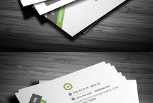 Visitenkarten-Design