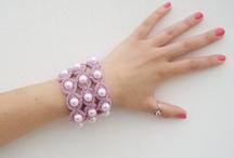 Crochet - Bracelets with beads