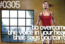 motivate {fitness quotes} / Motivational quotes and sayings for fitness.  / by Tina Reale