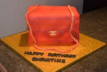 Chanel hand bag cake