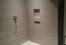 My tile work / Various renovation projects created by Gino Dalesio Renovations.