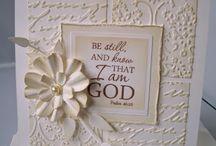 Handmade Cards- Faith Theme / Cards w faith & scripture