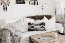 boho living room