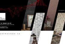Expo Revestir 2018 / NOVO ENDEREÇO=MAIS NOVIDADES Em 2018 estamos no estande 534 com uma nova proposta de espaço e mais novidades surpreendentes para apresentar. Acompanhe aqui o que está acontecendo em nosso espaço na ExpoRevestir 2018.