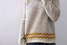 Strikke genser/kofte
