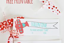 Valentine's Day / Celebrate Valentine's Day with your loved one with food, crafts, and ways to keep close.