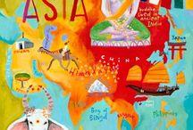 Asia Art Unit / by Rachel Stricklin