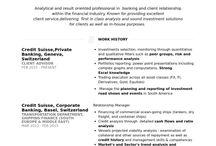 CV Resume Examples