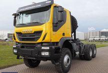T IVECO TRUCKS - TRAKKER/STRATOR / Trucks of the Italian brand IVECO,TRAKKER & STRATOR range series.