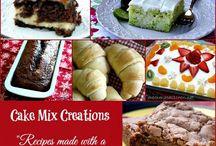 Baking recipes/ideas