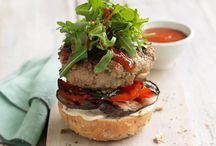 Healthy Hummus Recipes / Make your meal more exciting with hummus! In a burger, with chicken, on toast... anything goes in this collection!