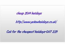 cheap 2014 holidays