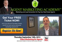 Agent Marketing Academy™ / http://www.AgentMarketingAcademy.com/timdavis is a free lunch and event for Real Estate Agents held on the 3rd Thursday of every month in Franklin, TN. We have a guest speaker about marketing topics such as video marketing, social media marketing, selling and listing strategies plus much more.  / by Tim Davis