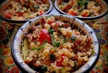Kuskus a ryža