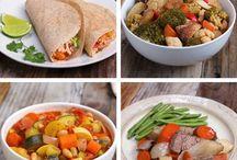 comidas preparadas con antelacion