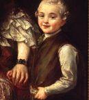 Konstancji Poniatowskiej z synem Augustyn Mirys, ok. 1739