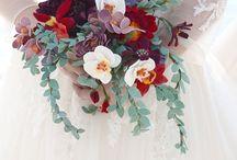 Felt bouquets