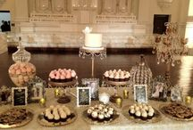 sweet tables / candy bars