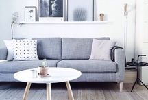 Ideas for Living Places / Fancy, Cute, Elegant, spaces for home, #PerfectStyle