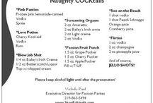 shots/cocktails